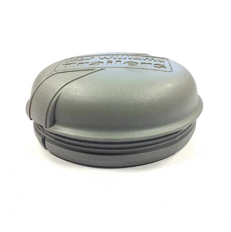 Cabochon de moyeu ifor williams en plastique gris visser for Diametre exterieur