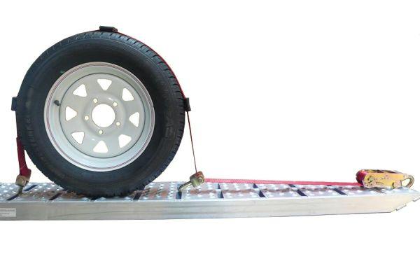 Sangle tour de roue pour remorque porte voiture 5t 50 x 2 5 m - Porter plainte pour degradation de vehicule ...